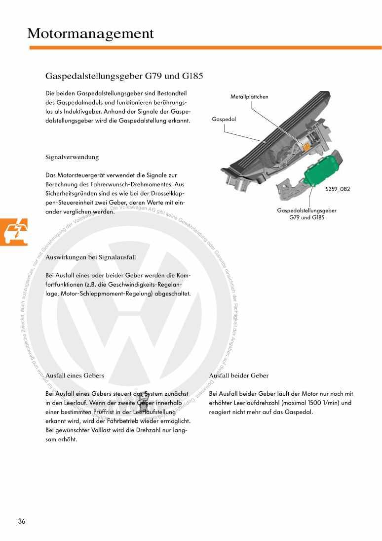 Beispielseite für Reparaturanleitung Nr. 359: Der 1,4l TSI-Motor mit Doppelaufladung