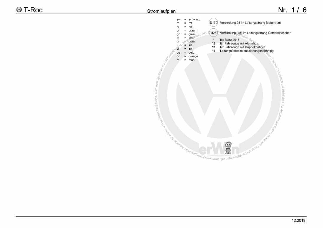 Beispielseite für Reparaturanleitung Grundausstattung, ab August 2017