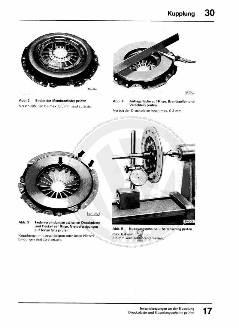 Beispielseite für Reparaturanleitung 4-Gang-Schaltgetriebe 015 und Achsantrieb