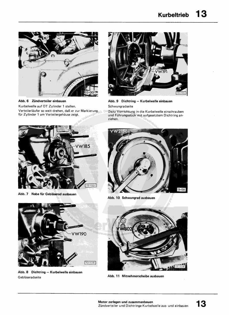 Beispielseite für Reparaturanleitung 2,0-l-Einspritzmotor (L-Jetronic) CV