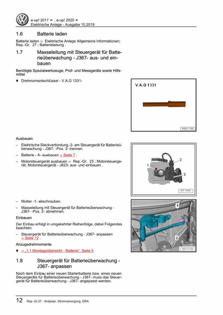 Beispielseite 2 für Reparaturanleitung Elektrische Anlage