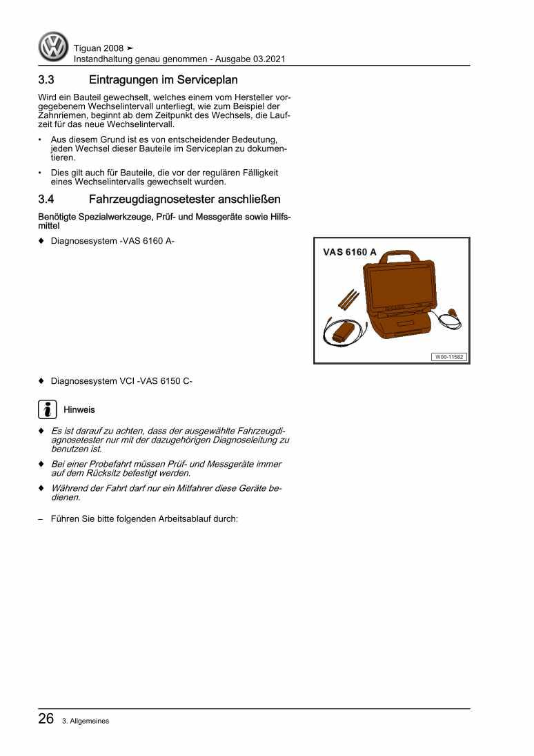 Beispielseite für Reparaturanleitung Instandhaltung genau genommen
