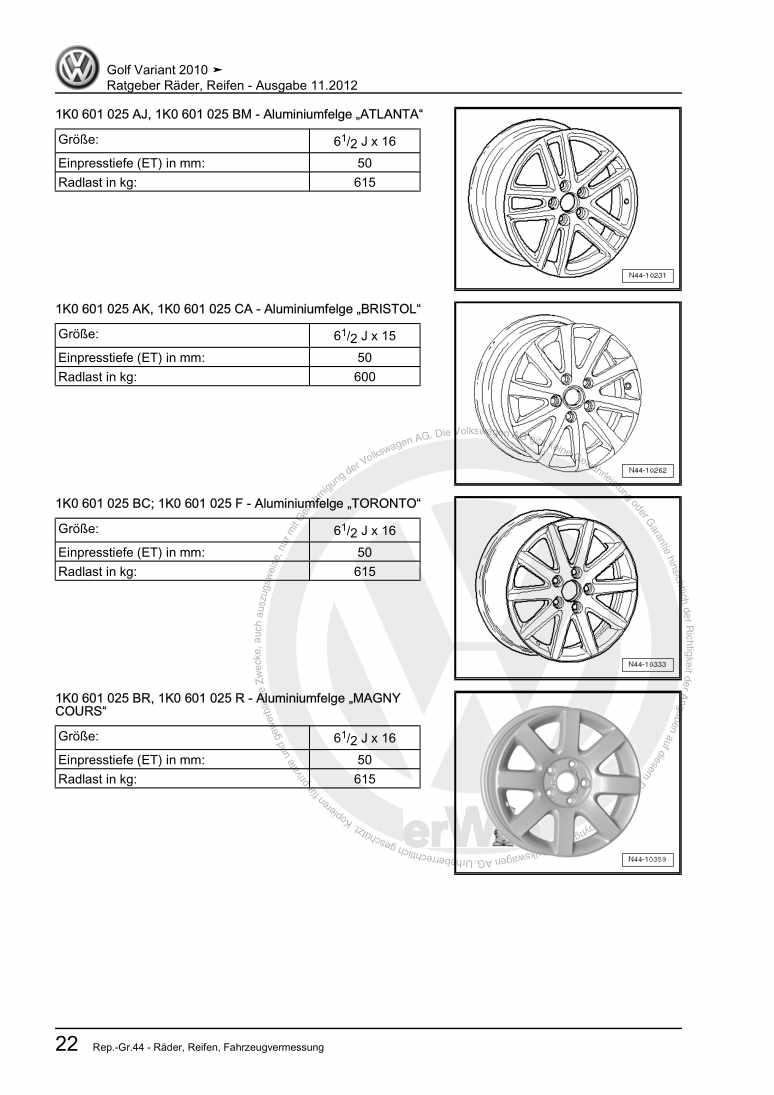 Beispielseite 2 für Reparaturanleitung Ratgeber Räder, Reifen