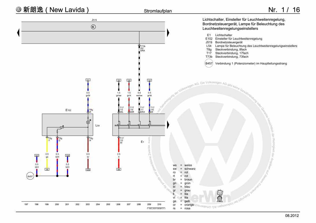 Beispielseite 2 für Reparaturanleitung Grundausstattung, ab Februar 2012
