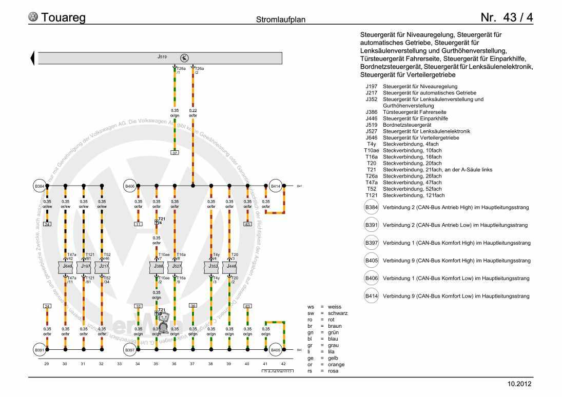 Beispielseite für Reparaturanleitung Grundausstattung, ab November 2003