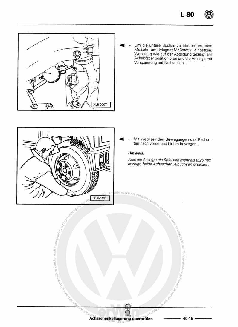Beispielseite 2 für Reparaturanleitung Fahrwerk