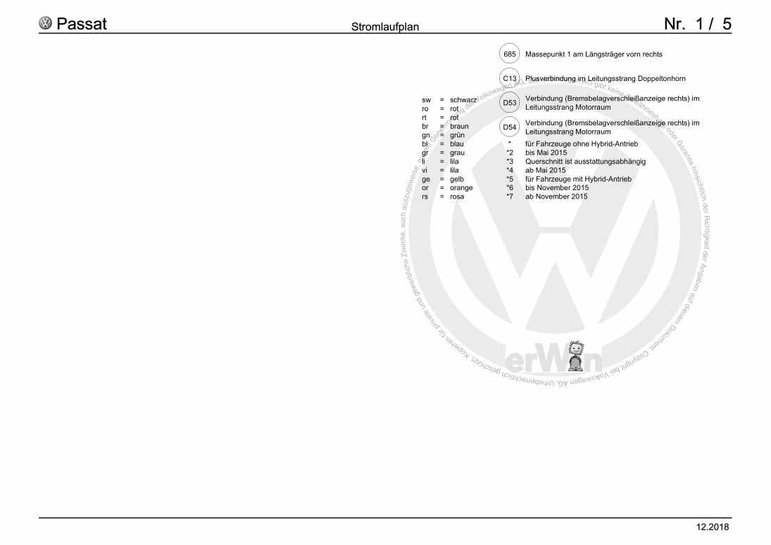 Beispielseite für Reparaturanleitung Grundausstattung, ab August 2014