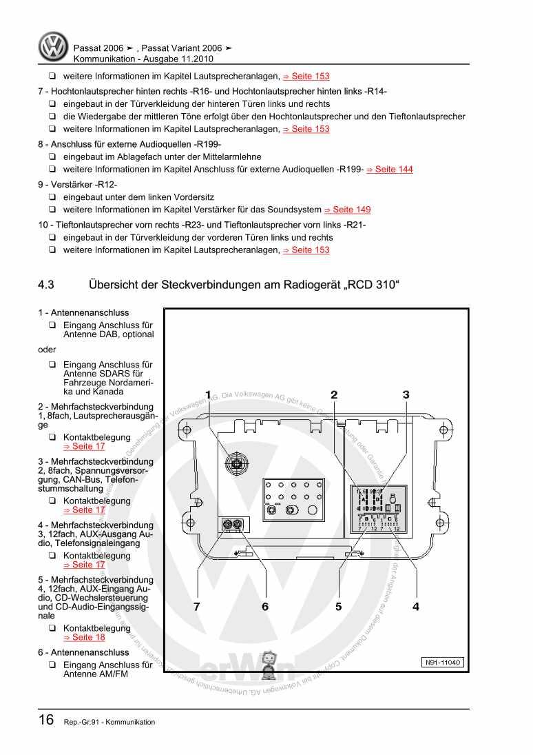 Beispielseite 2 für Reparaturanleitung Kommunikation