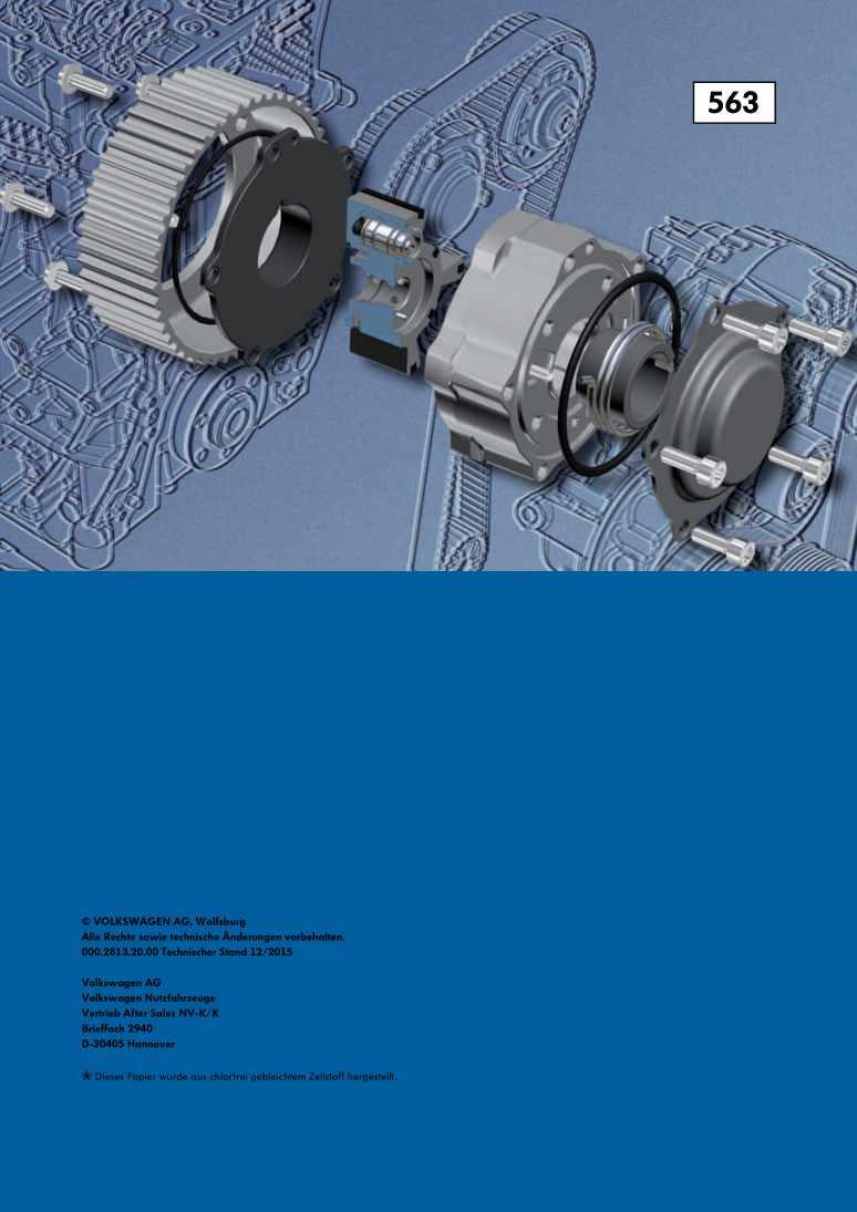 Beispielseite für Reparaturanleitung Nr. 563: Die TSI-Motoren der Baureihe EA211 im Caddy 2016