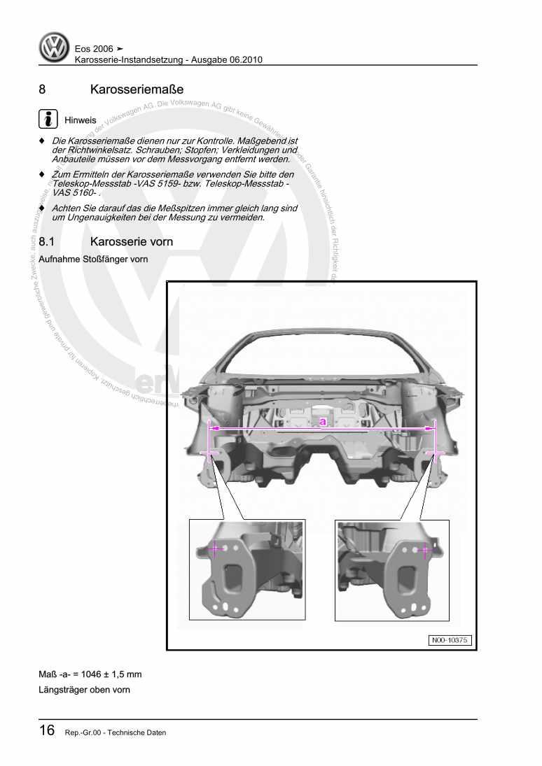 Beispielseite 2 für Reparaturanleitung Karosserie-Instandsetzung
