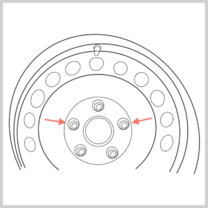 Darstellung Felgenschloss beachten zum Thema Golf 5 Bremssattel vorne wechseln