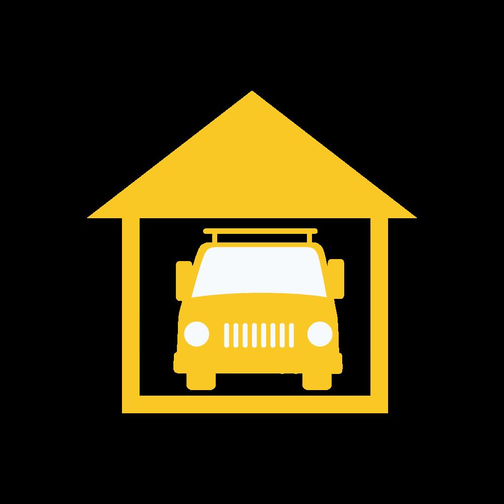 Grafische Darstellung der Funktion Garage