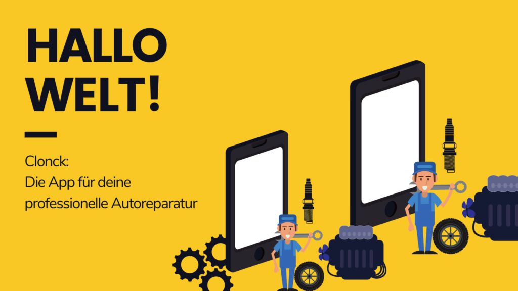 Die App für deine professionelle Autoreparatur